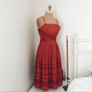 Anthropologie Viola  Dress